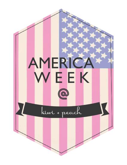 Kiwi+Peach: America Week
