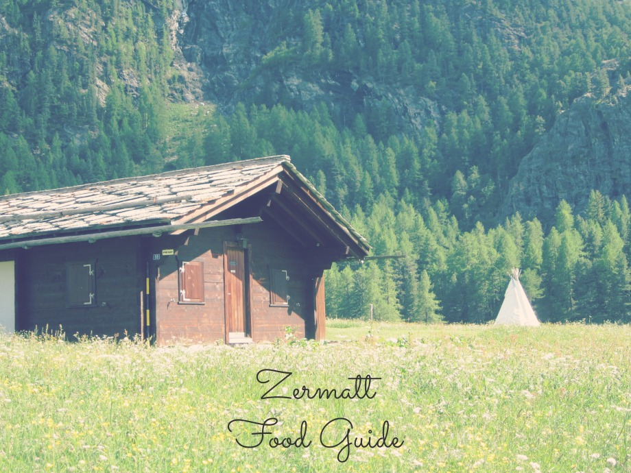 Kiwi+Peach: Zermatt Food Guide