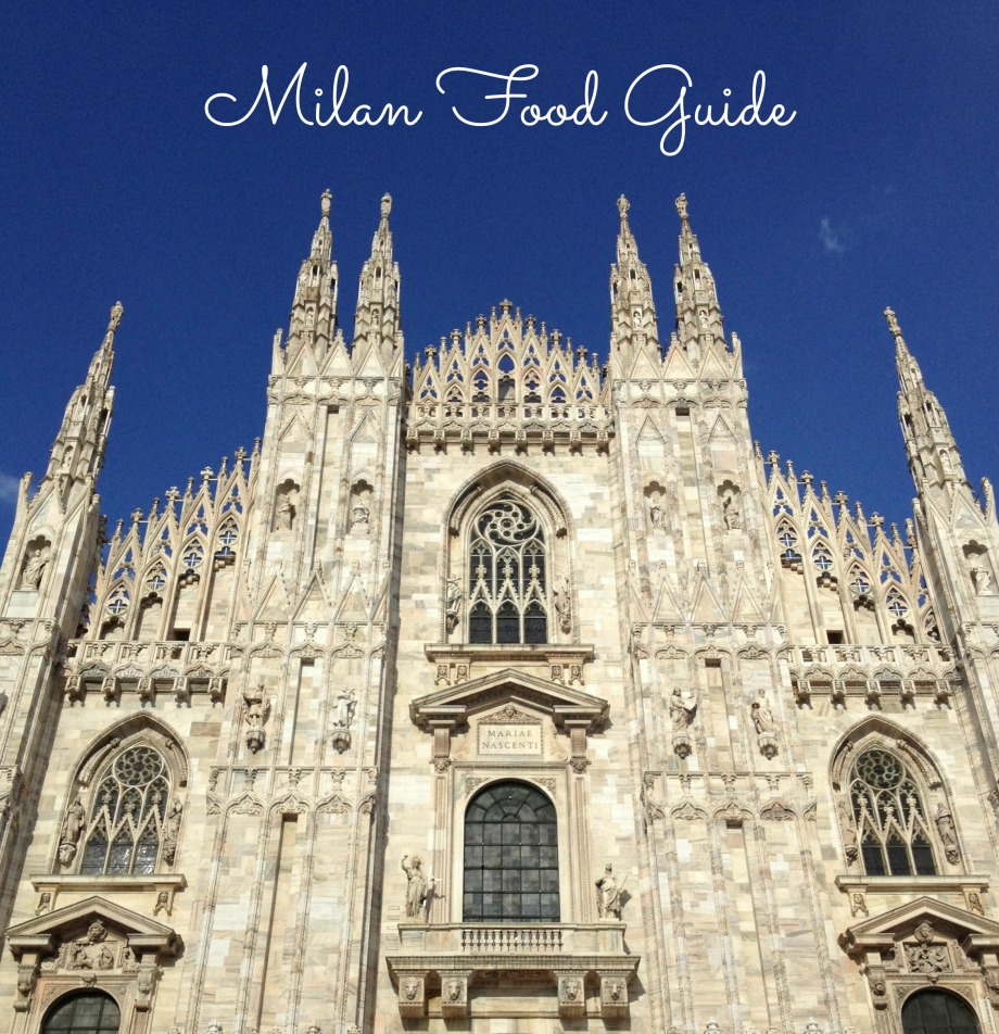 Kiwi+Peach: Milan Food Guide