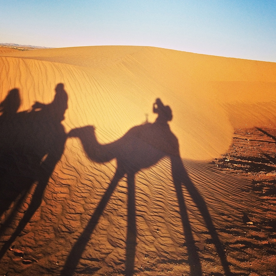 Kiwi and Peach {wanderlust: sahara desert}
