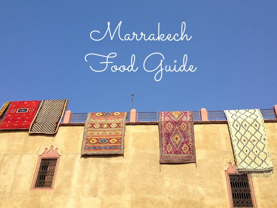Marrakech Food Guide from Kiwi and Peach
