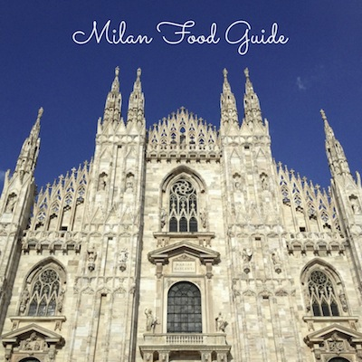 Milan Food Guide from Kiwi and Peach