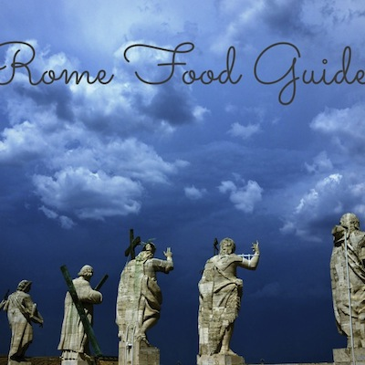 Rome Food Guide from Kiwi and Peach