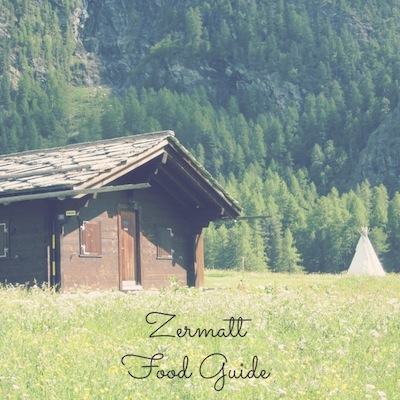 Zermatt Food Guide from Kiwi and Peach
