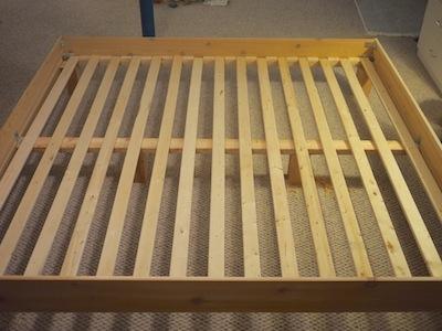 Slatted bed base plans